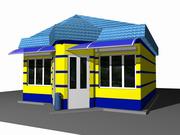 Строительство киосков,  павильонов,  остановочных комплексов,  рынков