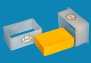 Формы для мягкого прямоугольного сыра на 1.0 кг