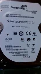 Продам Жесткий диск Seagate hdd 2.5 250 gb sata 5400