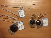 Ювелирный комплект,  НОВЫЙ,  серебро 925