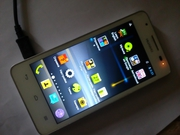 Белый смартфон Huawei Ascend G510. Отличное состояние