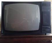 Телевизор Горизонт 61ТЦ-411/Д, СССР 80е годы, в хорошем рабочем состояни