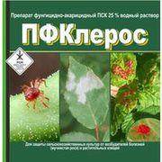 Препарат фунгицидно-акарицидный ПФКлерос (ПСК 25 % водный раствор)