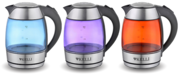 Чайник стекло электрический KELLI KL-1463