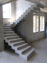 Монолитные лестницы. Фундаменты.