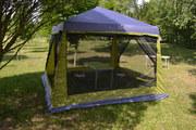 Дачный тент шатер с москитной сеткой