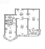 2 комнатная квартира ул. Люцинская,  23