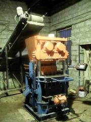 Оборудование для производства тротуарной плитки, бордюров.