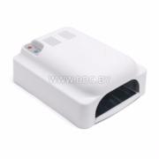 УФ лампа 36W Ibl-087w (индукционная) с вентилятором и таймером 60 120 красная, белая, серебро