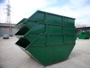 бункер-накопитель 8-12 м3 для крупногабаритного и строительного мусора