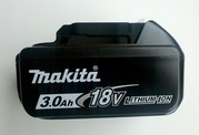 Аккумулятор Makita BL1830 18V Li-Ion 4A(оригинал).