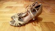 Продаю босоножки для бальных танцев - латина,  невысокий каблучок