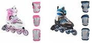 Детские роликовые коньки с защитой всего за 155 руб.