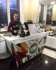 Продается кофейня кофе-бар расположенный в современном БЦ города Минск
