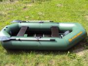 Надувная гребная лодка К240Т ПВХ