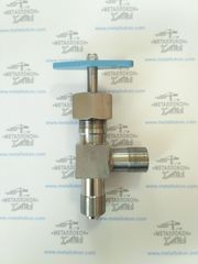 Вентиль угловой цапковый (аналог 15с13бк)