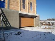 Секционные ворота в гараж  2500 мм  на 2125 мм