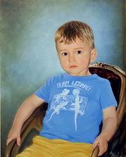 Портрет маслом на заказ. Доставка по Минску бесплатно.