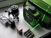 Лазерный  нивелир , уровень Fukuda 3D GREEN PRO 3-360 зеленые лучи