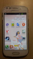 Телефон SAMSUNG galaxy S7562 б/у