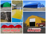 Ангары под склад - прямостенные,  шатровые,  арочные – изготовление,  про