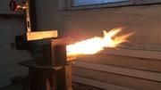 Капельная горелка на отработанном масле