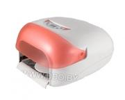 УФ лампа с электро/таймером 0-360 и вентилятором розовая 36W