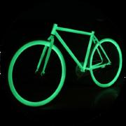 Светящаяся краска  для велосипеда