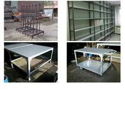 Пирамида транспортировки и хранения стекла,  столы,  стеллажи для склада