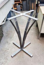 Подстолье из металла 450х450х1000
