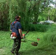 Покос травы,  стрижка газона,  мульчирование