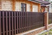 Купить Забор из профнастила,  штакетника от поставщика без наценок