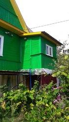 Покраска деревянных домов от 50 руб кв.м