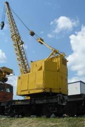Кран жезнодорожный КЖС-16 (1ел6 тонн)