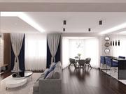 Дизайн-проект  интерьера и ремонт квартир, домов  в Минске