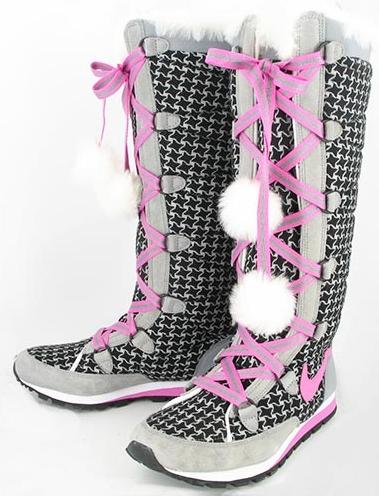 Купить женские зимние ботинки Nike в интернет магазине